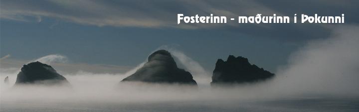 Fosterinn - var, er og mun verða - Hausmynd